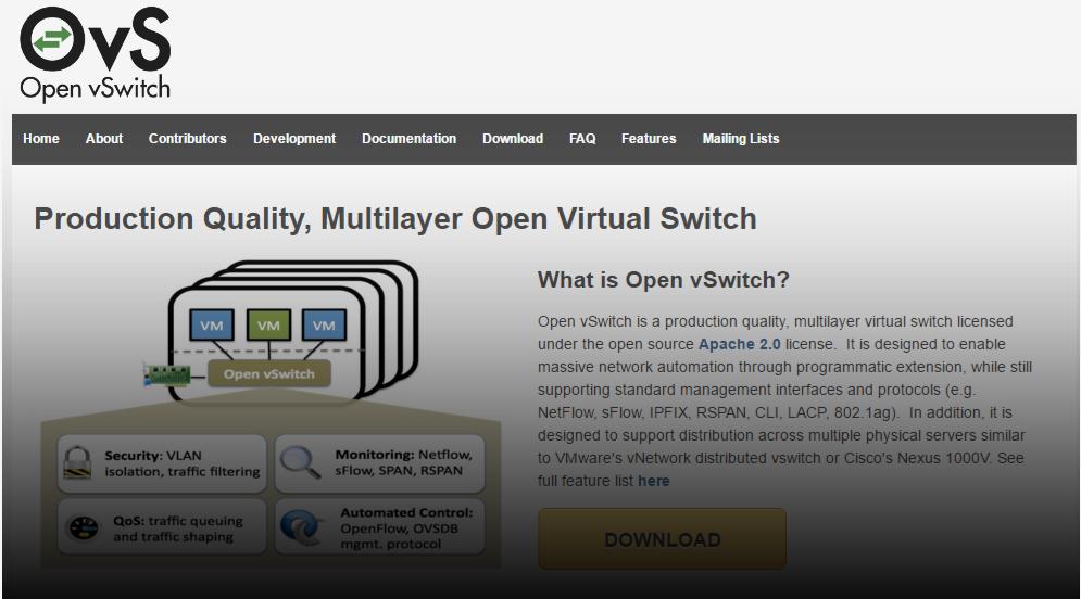 CentOS7で構築 Open vSwitch オープンブイスイッチ[4. 仮想子ノード作成]
