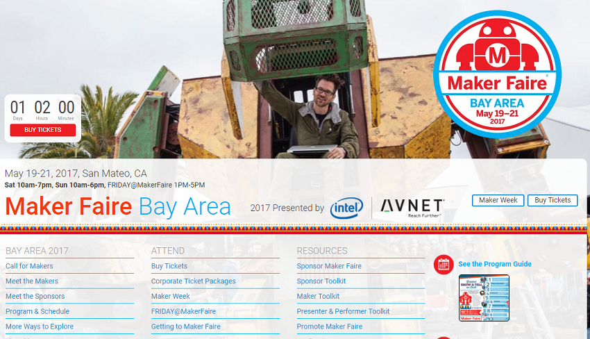 Maker Faire in Bay Area 2017 開催